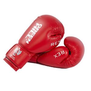 Перчатки боксерские REX BGR-2272, 10,12 oz, синий,красный Green Hill